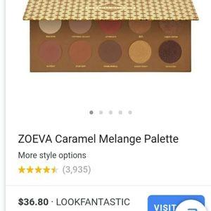 Zoeva Caramel Melange Palette